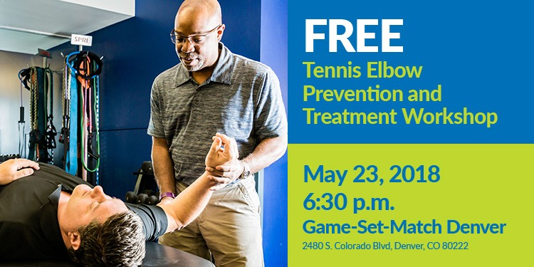 FREE Tennis Elbow Prevention and Treatment Workshop