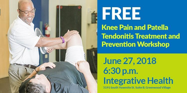Free Workshop Knee Pain Patella Tendonitis Treatment Prevention