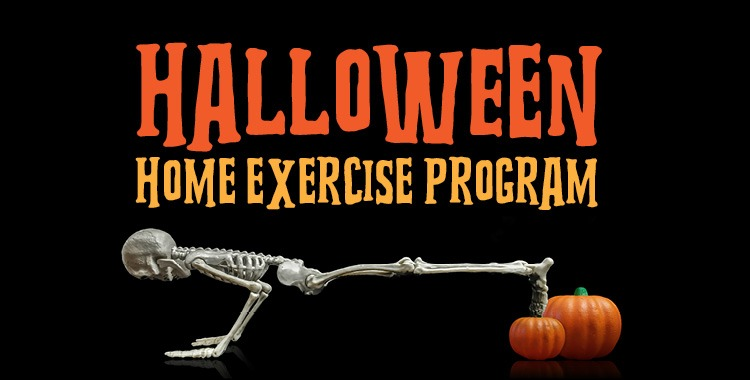 Halloween Home Exercise Program
