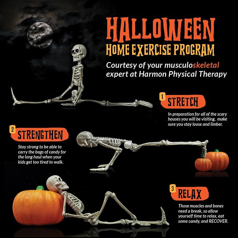 Halloween Home Exercise Program